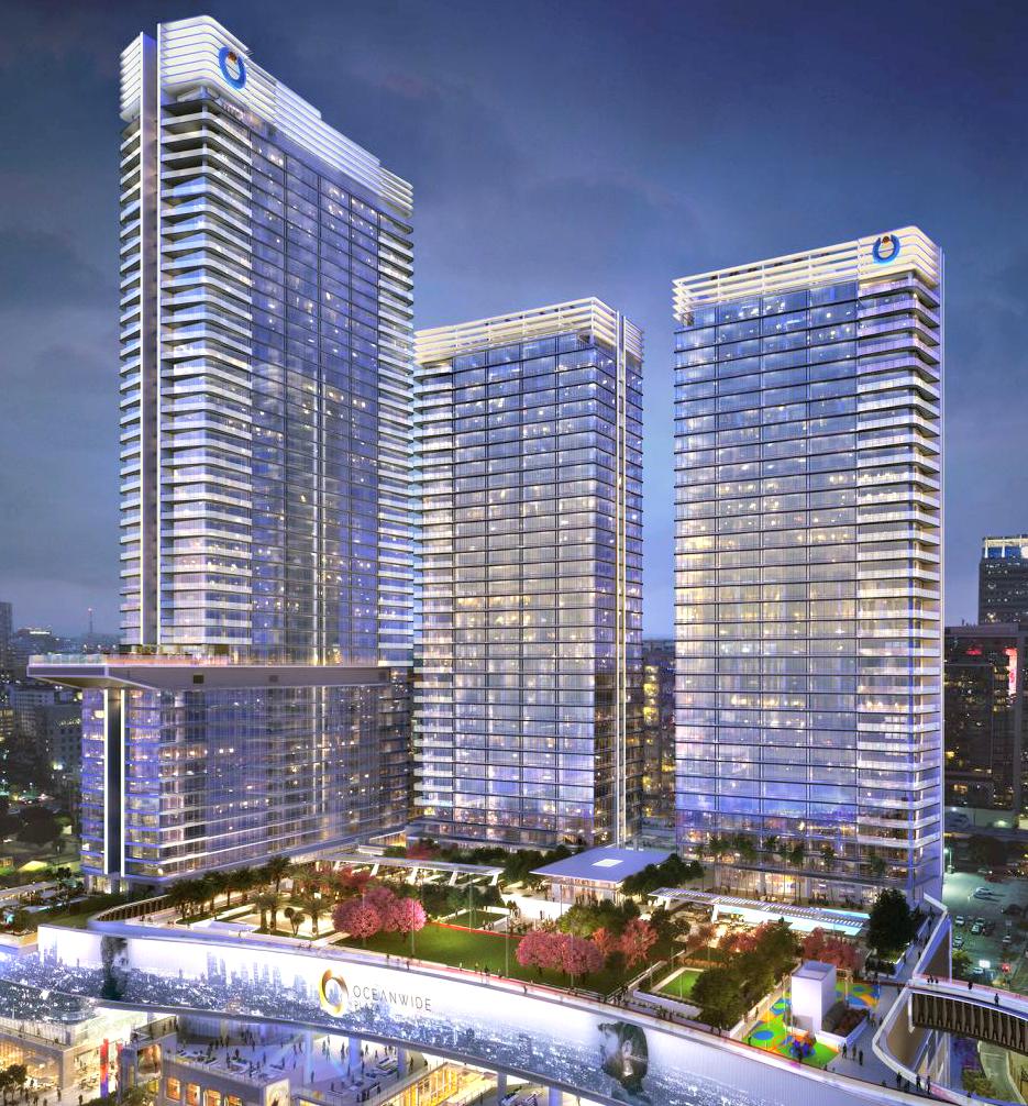 Oceanwide Plaza Towers