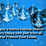 Happy Holidays From Premier Real Estate